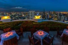 Bangkok- kupol på det statliga tornet Arkivfoton