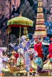 bangkok La Tailandia - 13 dicembre 2015, Khon è dramma di ballo di Tha Fotografia Stock Libera da Diritti