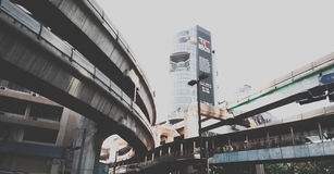 bangkok La Tailandia - 10 marzo 2017: Scena urbana Fotografia Stock