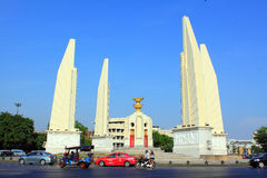 Bangkok Landmark – Democracy Monument. Landmark Democracy Monument In Bangkok Thailand royalty free stock photos