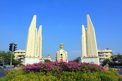Bangkok Landmark – Democracy Monument Stock Image