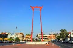 Bangkok Landmark - jätte- Swing arkivbilder
