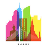 Bangkok landmarks Royalty Free Stock Photos