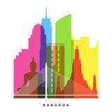 Bangkok landmarks Royalty Free Stock Photos