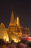 Bangkok le 5 décembre : Le palais grand Images libres de droits