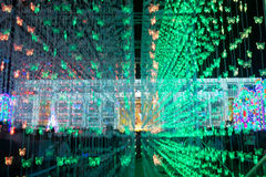 Bangkok-Licht des Glück-Festivals Lizenzfreie Stockfotografie