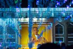 Bangkok-Licht des Glück-Festivals Stockfotografie