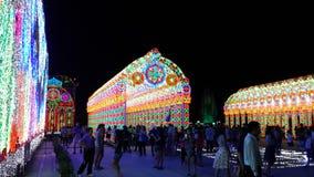 Bangkok ljus av lycka Royaltyfria Foton