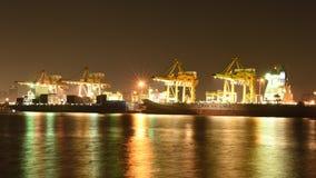 BANGKOK, Luty 26,2015: Zarząd Portu Tajlandia Fotografia Stock