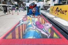 Lebendes Kunst-Festival 2013 @ Ratchaprasong Lizenzfreies Stockfoto