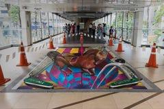 Lebendes Kunst-Festival 2013 @ Ratchaprasong Stockfotografie