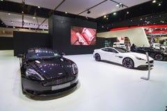 BANGKOK - MAART 30: Aston Martin-auto op vertoning bij de Internationale de Motorshow van 36ste Bangkok op 30 Maart, 2015 in Bang Royalty-vrije Stock Afbeeldingen