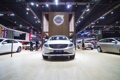 BANGKOK - MAART 30: De auto van Volvo XC60 op vertoning bij de Internationale de Motorshow van 36ste Bangkok op 30 Maart, 2015 in Royalty-vrije Stock Foto