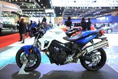 BANGKOK - MAART 24: DE MOTOR VAN BMW F 800 R Royalty-vrije Stock Afbeeldingen