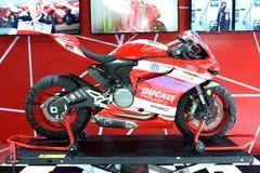 BANGKOK - MAART 24: De motor van Ducatisuperbike Royalty-vrije Stock Foto