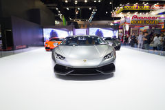 BANGKOK - MAART 30: Lamborghini-auto op vertoning bij de Internationale de Motorshow van 36ste Bangkok op 30 Maart, 2015 in Bangk Royalty-vrije Stock Afbeeldingen