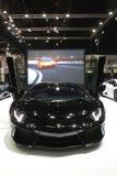 Bangkok - Maart 31: Lamborghini huracan op zwarte auto bij de Internationale Thailand de Motorshow 2016 van 37ste Bangkok op 26 M Stock Afbeelding