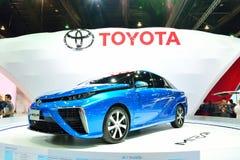 BANGKOK - 26 maart: Toyota Mirai, het Voertuig van de Waterstofmotor, op D Stock Foto