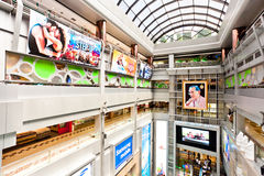 Bangkok the Mah Boonkrong (MBK) internal. MBK Mah Boon Krong referred to, is now the most popular Bangkok the localization of an integrated shopping mall. And Royalty Free Stock Images