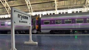 Bangkok main railway station Stock Photo