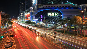 MBK购物中心在曼谷 免版税库存图片