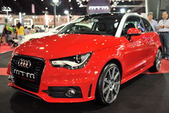 BANGKOK - MAR 26: The new Audi A1 Royalty Free Stock Photos