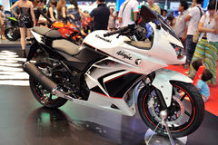 BANGKOK - MAR 26: The new Kawasaki ninja 250 Royalty Free Stock Images