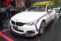 BANGKOK - MARCH 22: BMW 420d Coupe Car On Display At The 37 Th T Royalty Free Stock Image