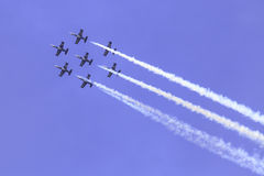 The acrobatic team Breitling Jet Team Stock Photography
