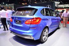 BANGKOK - March 26 : BMW 218i Active Tourer on DisPlay at 36th B Stock Photography