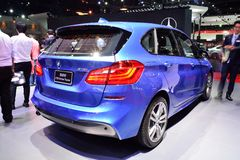 BANGKOK - March 26 : BMW 218i Active Tourer on DisPlay at 36th Bangkok International Motor Show on March 26, 2015 in Bangkok, Thai Stock Images