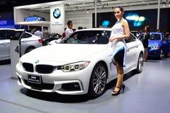 BANGKOK - March 26 : BMW 428i gran coupe on DisPlay at 36th Bang Stock Photos