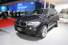 BANGKOK - MARCH 24: BMW x5 xdrive 30d car on display at The 36 t Stock Photography