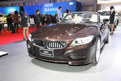 BANGKOK - MARCH 24: BMW Z4s Drive 20i car on display at The 36 t Stock Photo
