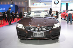 BANGKOK - MARCH 24: BMW Z4s Drive 20i car on display at The 36 t Royalty Free Stock Images