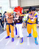 Cosplayer from Dragonball Z. Royalty Free Stock Photo