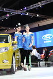 BANGKOK - MARCH 26 : Ford car with Unidentified model on display at The 34th Bangkok International Motor Show 2013 on March 26, 20 Stock Image
