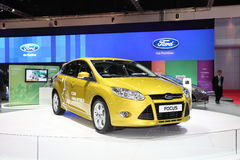 BANGKOK - MARCH 26: Ford Focus car on display at The 34th Bangkok International Motor Show on March 26, 2013 in Bangkok, Thailand. Royalty Free Stock Photography