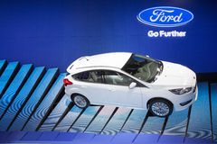 BANGKOK - MARCH 22: Ford New Focus car on display at The 37 th T Royalty Free Stock Photography