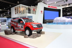 BANGKOK - MARCH 26: Haval car on display at The 34th Bangkok International Motor Show on March 26, 2013 in Bangkok, Thailand. Royalty Free Stock Photography