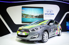 BANGKOK - MARCH 29 : HYUNDAI I40 FIFA WORLD CUP 2014 Limited edi Stock Photo