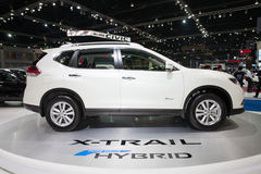 BANGKOK - MARCH 22: Isuzu X-Trail Hybrid car on display at The 3 Royalty Free Stock Photography