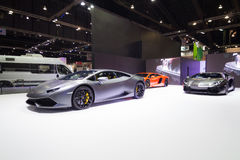 BANGKOK - MARCH 30: Lamborghini car on display at The 36 th Bangkok International Motor Show on March 30, 2015 in Bangkok, Thailan Stock Photography