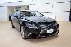 BANGKOK - MARCH 22: Lexus LS 600h car on display at The 37 th Th Royalty Free Stock Images