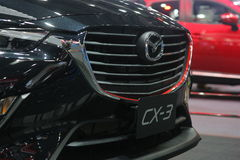 Bangkok - March 31 : Mazda CX-3 on black car at The 37th Bangkok International Thailand Motor Show 2016 on March 26 Stock Photos
