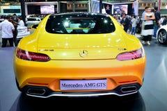 BANGKOK - March 26 : Mercedes Benz AMG-GTS on DisPlay at 36th Ba Royalty Free Stock Photography