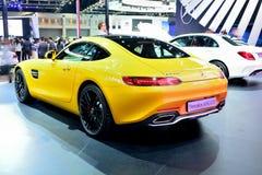 BANGKOK - March 26 : Mercedes Benz AMG-GTS on DisPlay at 36th Ba Royalty Free Stock Image
