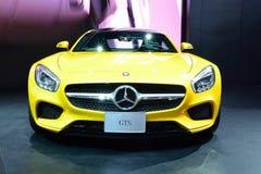 BANGKOK - March 26 : Mercedes Benz AMG-GTS on DisPlay at 36th Ba Royalty Free Stock Photos
