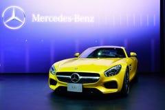 BANGKOK - March 26 : Mercedes Benz AMG-GTS on DisPlay at 36th Ba Stock Photos