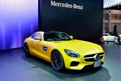 BANGKOK - March 26 : Mercedes Benz AMG-GTS on DisPlay at 36th Ba Stock Photography